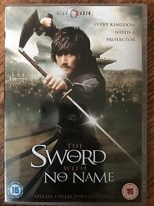 The Sword with No Name DVD 2009 Korean Martial Arts Epic Movie