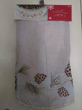 "Christmas Tidings Tree Skirt 48"" Diameter"