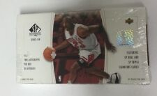 2003-04 Upper Deck SP Authentic Basketball Hobby Box Factory Sealed Lebron RC?