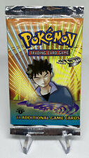 VIDEO WEIGHED 🥊 2000 Pokemon 1st Edition Gym Heroes Booster Pack Sealed - MINT