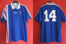 Maillot Adidas Equipe de France 1995 rétro n° 14 Zidane Vintage - XL