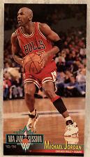 1993-94 NBA JAM SESSION MICHAEL JORDAN #33 OVERSIZED CARD RARE CHICAGO BULLS NM