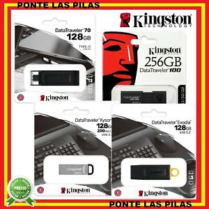 Pendrive Kingston 32GB 64GB 128GB 256 GB USB 3.0 Memoria USB Nuevos
