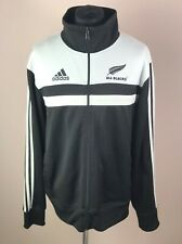 New Zealand 2012 ALL BLACKS Adidas Track Jacket Men Size 2XL Rugby Tracksuit Top