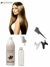 COCOCHOCO BRAZILIAN KERATIN TREATMENT BLOW DRY HAIR STRAIGHTENING 100ML KIT 50x2