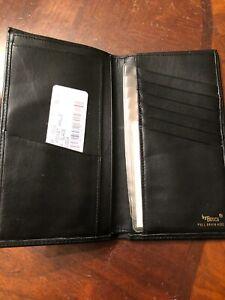 Bosca Leather Coat Pocket Wallet