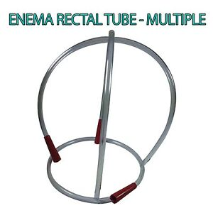 RECTAL ANAL TUBE SUITABLE FOR COFFEE ENEMAS AND COLONICS VARYING QUANTITES 5-31
