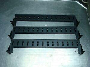 APC 870-5426B CABLE RETENTION BRACKET BLACK LOT OF 3 NNB