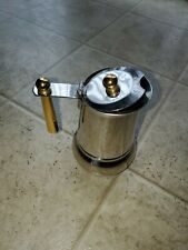Vintage~GB GUIDO BERGNA Expresso STOVE TOP ITALY 18-10 Inox #103H
