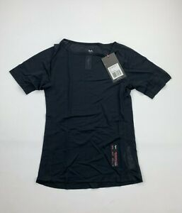 RAPHA Women's Merino Mesh Short Sleeve Base Layer Black Size Small New