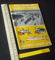 Early 1960s Vintage Bassett-Lowke Model Railway, Boats & Engineering Catalogue.