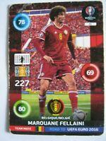 EURO 2016 PANINI ADRENALYN XL-Marouane Fellaini-Bel--Road to EUFA 2016 Football