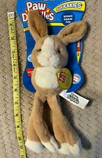 Paw Doodles Squeakies by Jakks Pacific - Rabbit - Dog Toy with squeakers & ball
