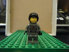 LEGO MINIFIGURE - SPACE–SPACE POLICE III – OFFICER 5, BLK AIRTANKS – GENTLY USED