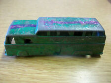 Vintage Midgetoy Rockford Ill. Metal Toy Bus 3 1/2""