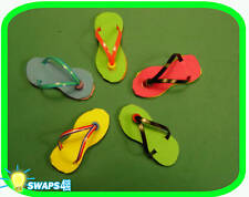 "Mini Flip Flop Sandal ""Girl Scout"" SWAPS  Craft Kit  by Swaps4Less.com"