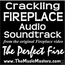 Fireplace Audio Crackling Soundtrack! The Perfect Fire