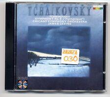 Tchaikovsky CD Symphony No. 6 james levine chicago orchestra tschaikowski red se
