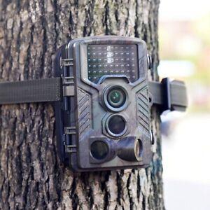 1080P Caméra de Chasse Caméra de Surveillance IR HD Nuit Vision GSM/MMS/SMTP/SMS