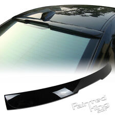 --Painted  04 10 BMW E60 5-Series A Style Roof Spoiler 475 black