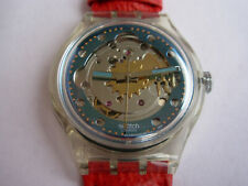 SWATCH AUTOMATIC RED AHEAD - SAK101 - 1992 - NEW NUOVISSIMO