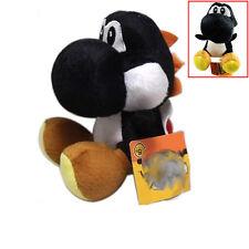 "Super mario bros Black running yoshi 7"" soft Stuffed plush toy figure Doll Gifts"