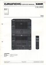 GRUNDIG - M 20 - Service Manual Anleitung Schaltbild - B7484
