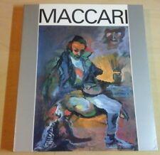 MINO MACCARI 1898 - 1989 catalogo mostra Macerata edizioni De Luca 1993