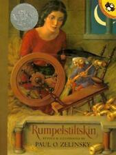 RUMPELSTILTSKIN Jacob Grimm Paul O Zelinsky CALDECOTT HONOR Puffins Book NEW