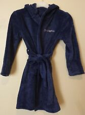 Personalised Supersoft Bath Robe Christopher 8 - 9 Years BNWT Navy Uk Freepost