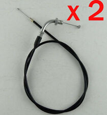 2x 1029mm accelerate Throttle Cable Line 49 80cc Push Mini Bike Pit Pocket Buggy