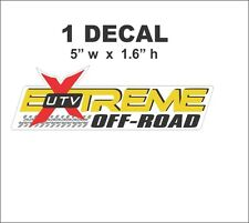 UTV Extreme Off Road Decal  Polaris Honda Yamaha Arctic Cat Bad Boy Can Am ATV