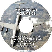 Air Transports Flight Manuals on CD C-5 C-17 C-130 KC-135