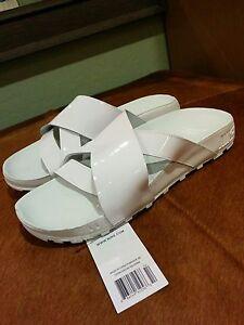 Nike Taupo 8 White slide jordan 4 IV Cement xi dunk sb 1 3 lebron v air 95 max x