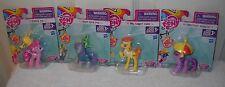 #9494 NOC Hasbro Set of 4 My Little Pony Miniature Ponies