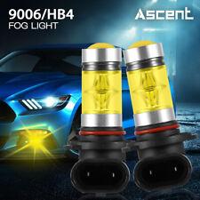 2x 9006 HB4 LED Fog Light Bulb 3000K Fit Mazda 3 2009-2007 / MX5 Miata 2005-2004
