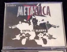 Metallica Untill It Sleeps Single 1/2 Megadeth Slayer Made In uK