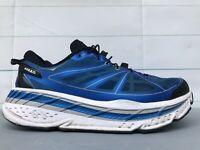 Hoka One One Stinson 3 Lite True Blue White Running Shoes Mens Size 11.5
