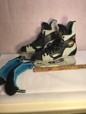 Bauer Vapor 3 Tuuk Custom + Stainless Steel Adult Hockey With Covers