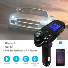 Bluetooth Lcd Car Kit Fm Transmitter Mp3/Usb/Tf Handsfree for Smartphone Ma854