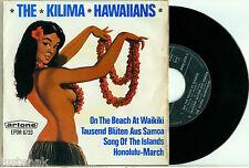 """the KILIMA HAWAIIANS """"On the Beach + 3 - HOLLAND ARTONE EP 6733 PS 7"""""""