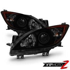 """""""DARKEST SMOKE"""" 2010-2013 Madza 3i 3s Sport """"Factory Style"""" JDM Headlights Lamps"""