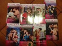 lotto libri harmony 8 volumi
