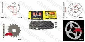 DID- Chain Sprocket Kit 14t 38t 428D 114 fits Yamaha RD125 74-75