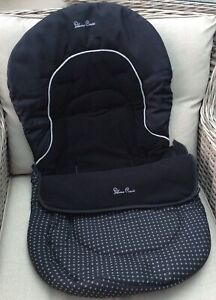 DOMINO BLACK FLEECE LINED FOOT MUFF COSY TOES CONVERTS TO A LINER FOOTMUFF
