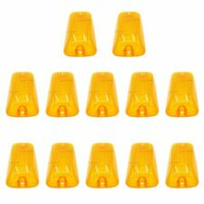 10 Roof Running Light Cab Marker Amber Cover Top Lamp Len For1988-2000 Chevy GMC