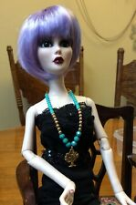Evangeline Ghastly,Bjd, Gold And Green Tree Necklaces. 2 For 1 Sale Price, Ooak