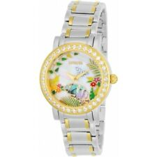 Invicta 23216 Angel Enchanted Garden Crystal Accent Mother-of-Pearl Women Watch