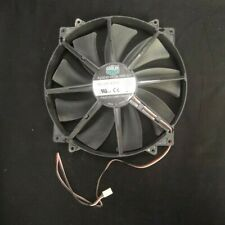 COOLER MASTER FAN A20030-07CB-3MF-C1 DC 12V .28A BLACK 3 WIRE 200 MM X 30 MM