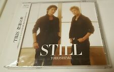 Tohoshinki Korean DBSK TVXQ Still Bigeast version CD New Wrapped